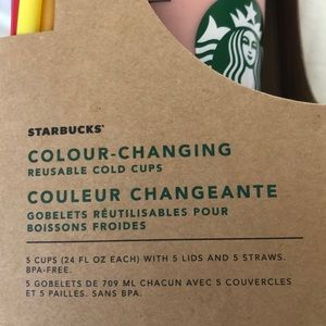 Starbucks Accessories - Color Change Cups